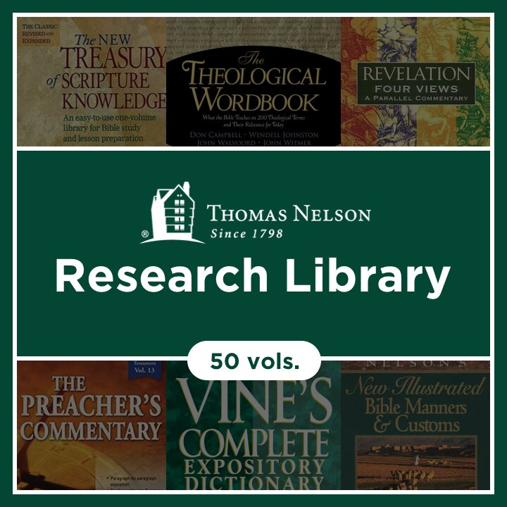 Thomas Nelson Research Library (50 vols.)