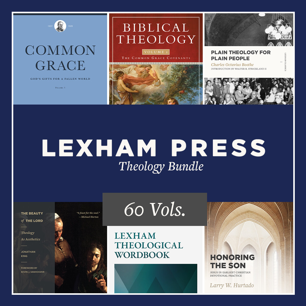 Lexham Press Theology Bundle (60 vols.)