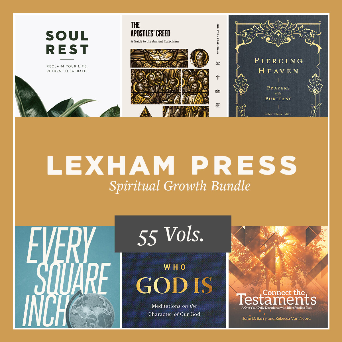 Lexham Press Spiritual Growth Bundle (55 vols.)