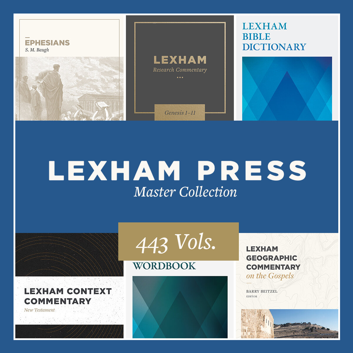 Lexham Press Master Collection (443 vols.)