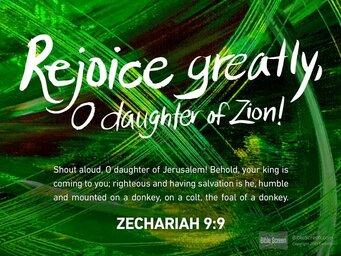 Rejoice Greatly