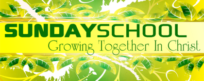 Sunday School Growing Together