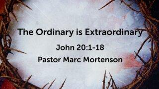 The Ordinary is Extraordinary