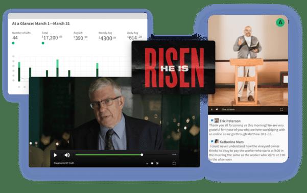 Integrated Ministry Platform screenshots