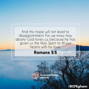 Romans 5 5