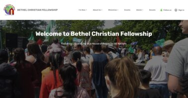 BCF New Website Home Page