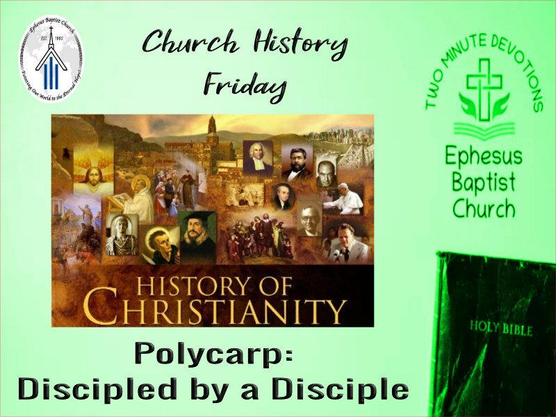 Church History Friday!