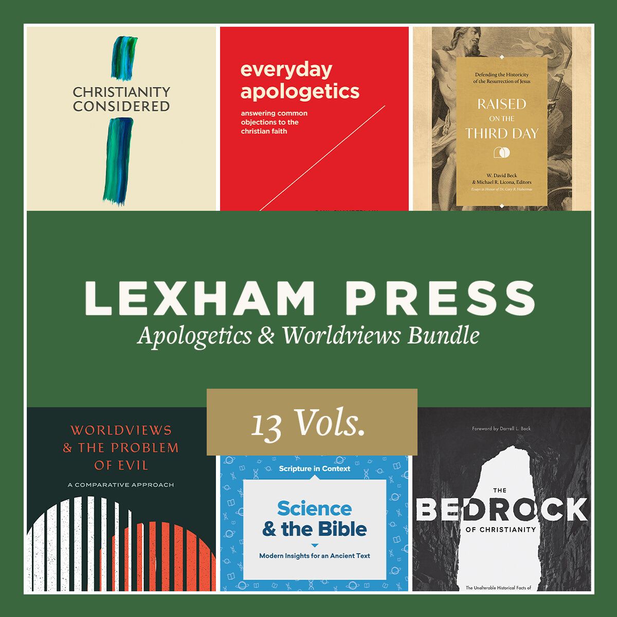 Lexham Press Apologetics & Worldviews Bundle (13 vols.)
