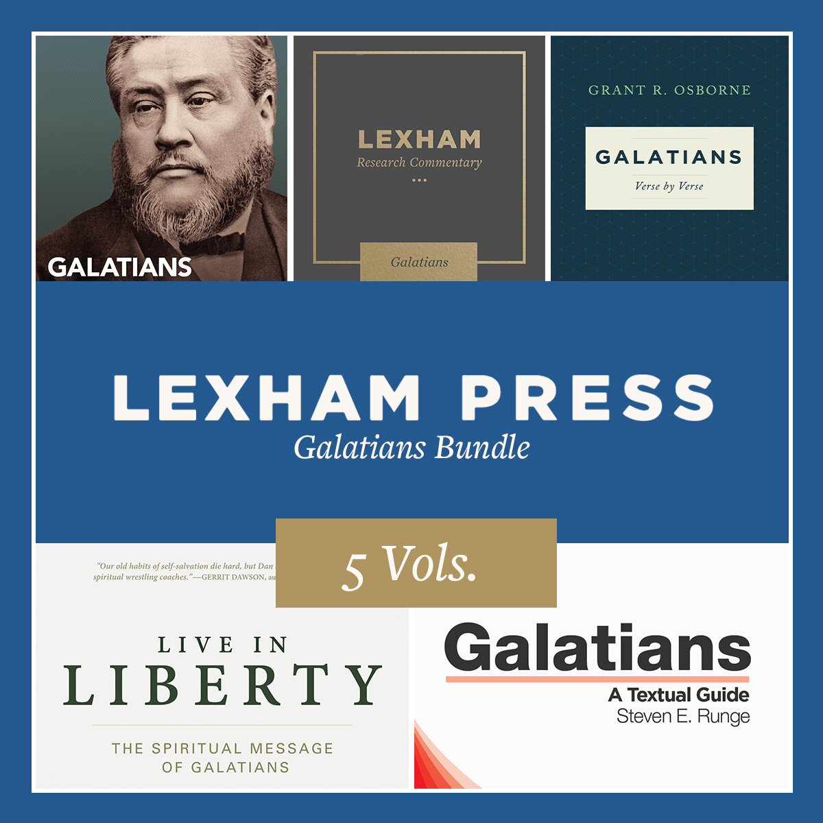 Lexham Press Galatians Bundle (5 vols.)