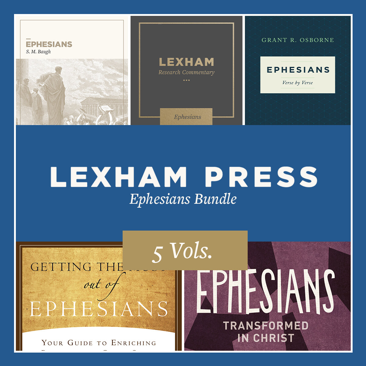 Lexham Press Ephesians Bundle (5 vols.)