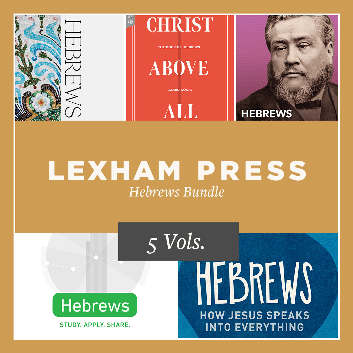 Lexham Press Hebrews Bundle (5 vols.)