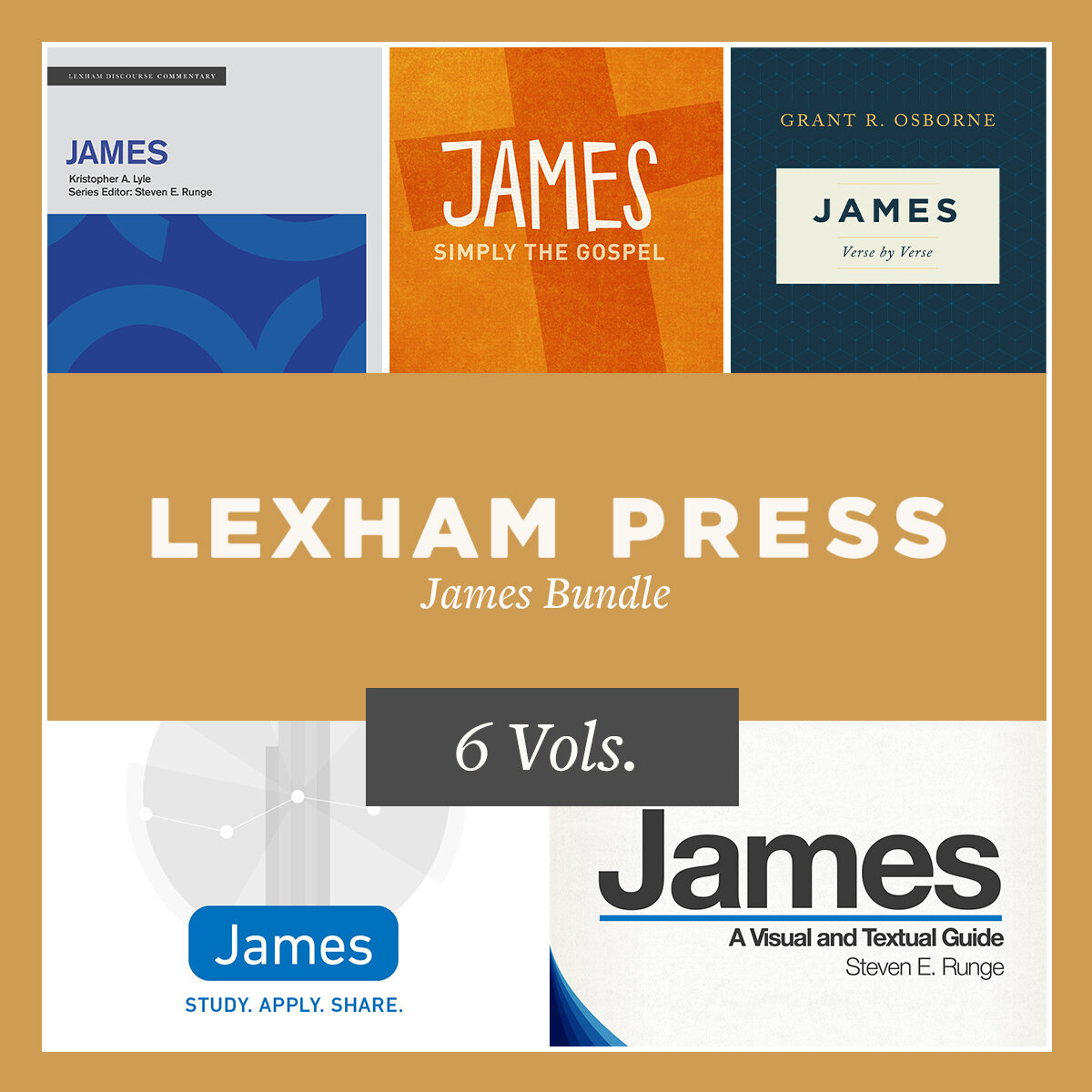 Lexham Press James Bundle (6 vols.)