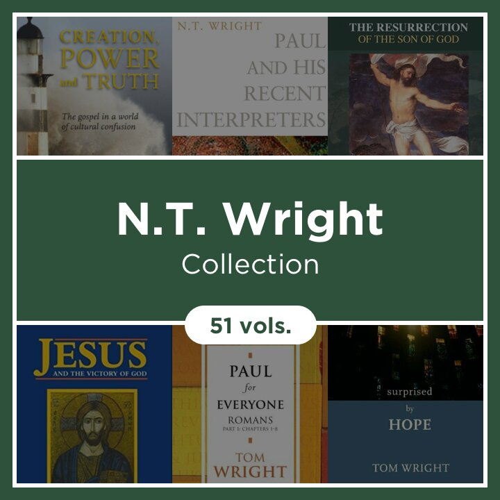 The N.T. Wright Collection (51 vols.)