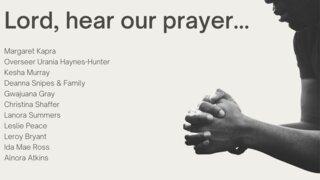 HHWC Prayer Requests 04252021