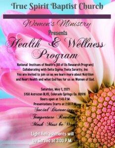 Womens Ministry Spa Night