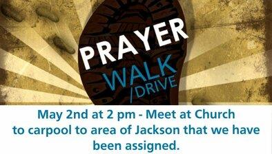 New Prayer Walk Drive