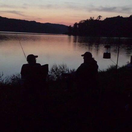 Cropped Fishing