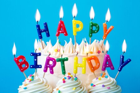 Happy Birthday Candles Picture Id1202880334