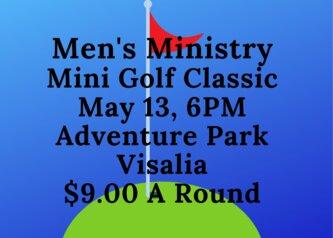 Men's Mini Golf Classic Adventure Park Visalia $9.00 A Round