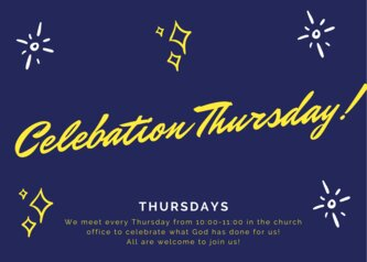 Celebation Thursday!