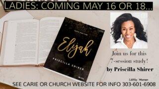 Ladies Study Elijah 2