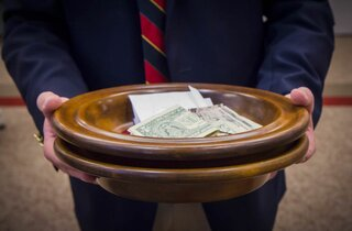 Offering plates