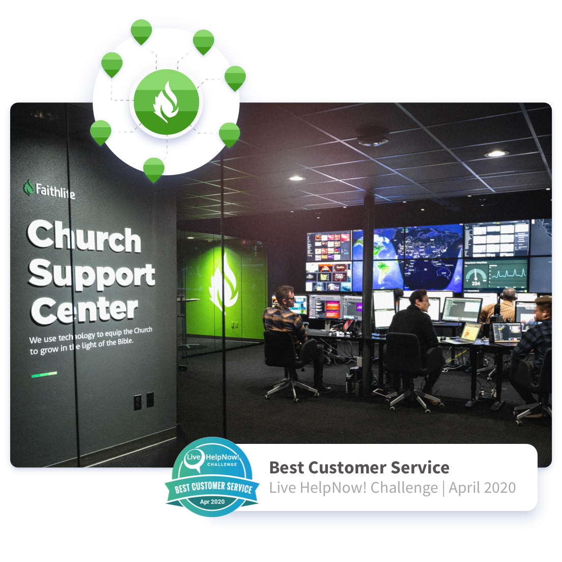 Church Support Center for helping churches with online giving