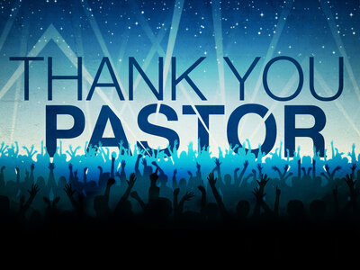 Thank You, Pastor