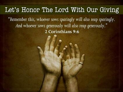 Inspiring Quotes Church Giving 3