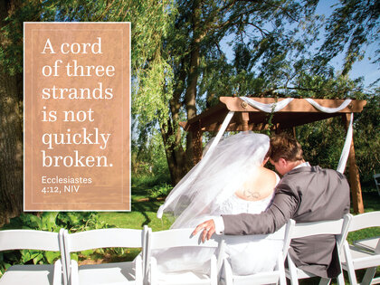 Wedding - A Cord Of Three Stands