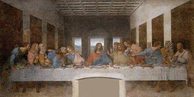 The Last Supper - Leonardo Da Vinci - High Resolution 32X16