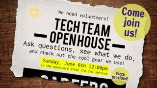 MCF Tech Team Open House