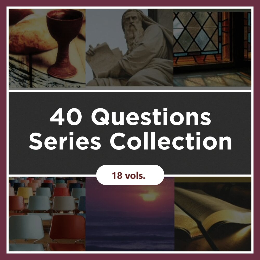 40 Questions Series Collection (18 vols.)