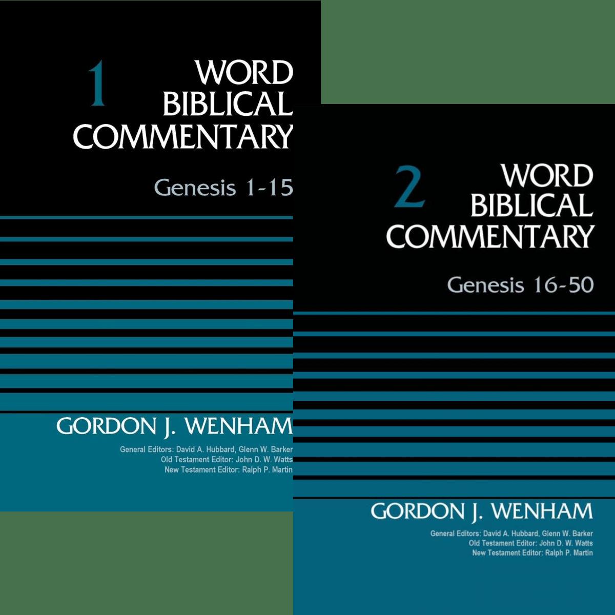 Genesis, 2 vols. (Word Biblical Commentary | WBC)