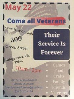 Veterans Celebration May 22 2021