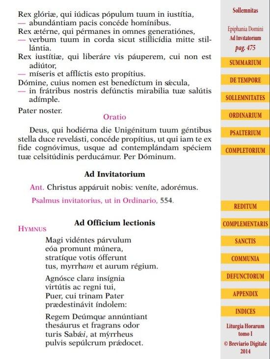 Liturgia Horarum Sample Page