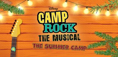 Camp Rock Logo Wall