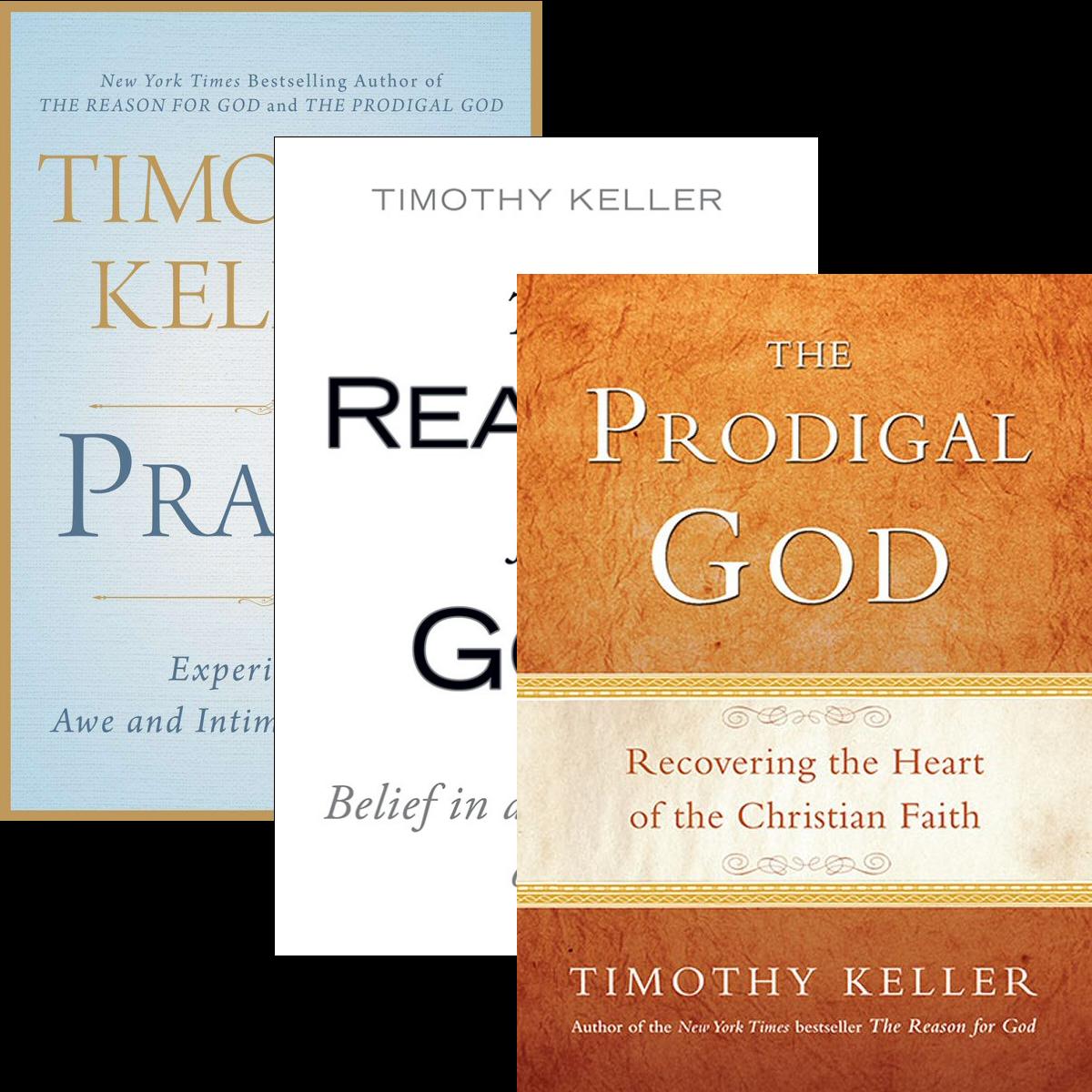 Timothy Keller Bestsellers (3 vols.)