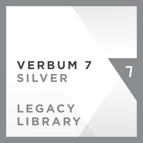Verbum 7 Silver Legacy Library