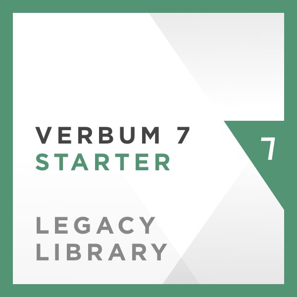 Verbum 7 Starter Legacy Library