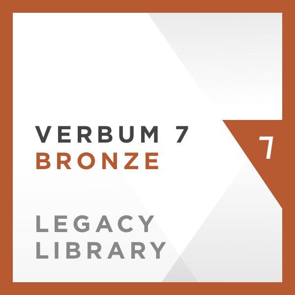 Verbum 7 Bronze Legacy Library