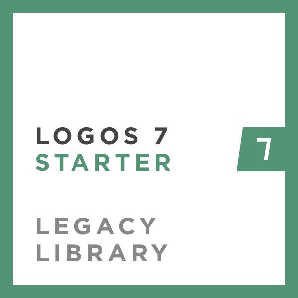 Logos 7 Starter Legacy Library