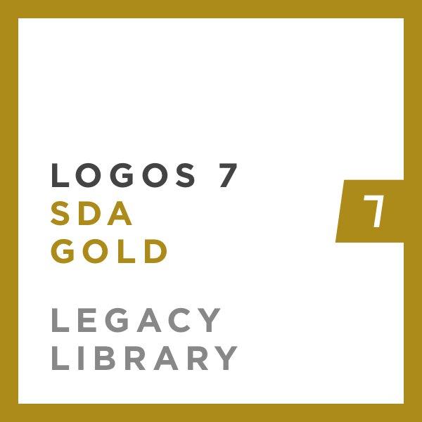 Logos 7 SDA Gold Legacy Library