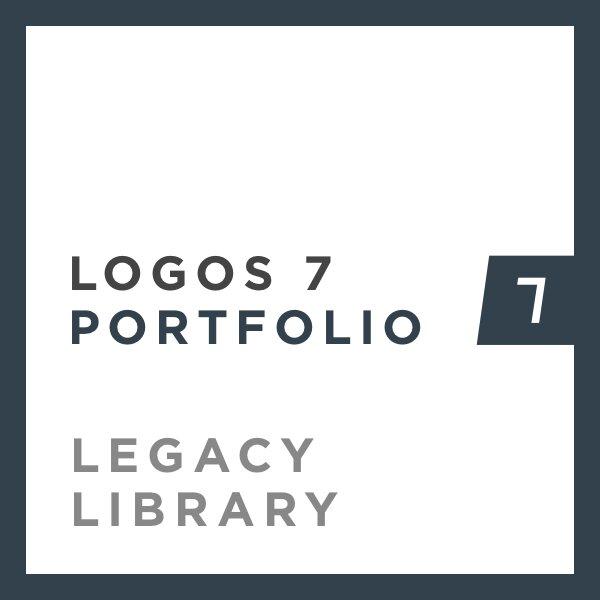 Logos 7 Portfolio Legacy Library