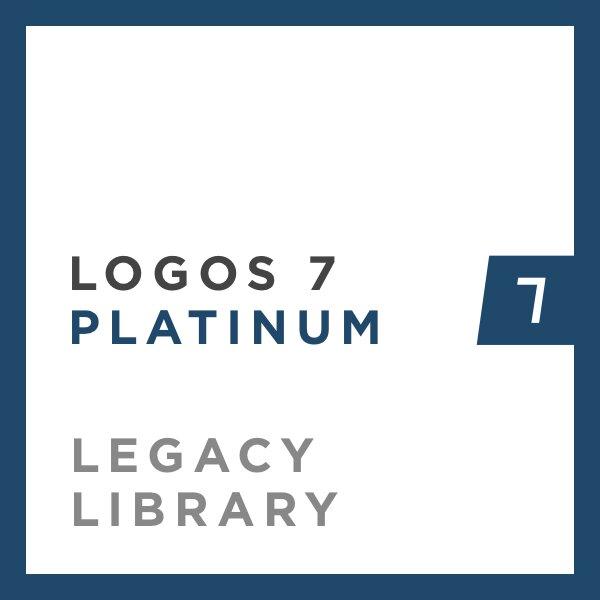 Logos 7 Platinum Legacy Library