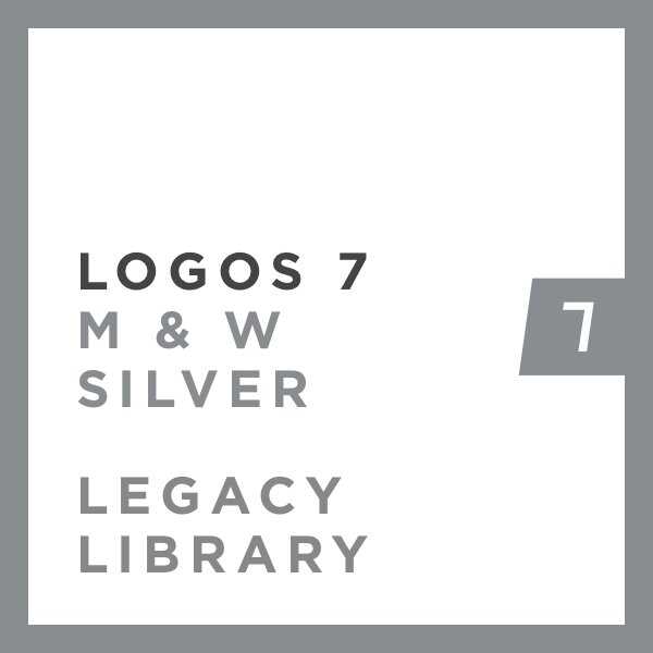 Logos 7 Methodist & Wesleyan Silver Legacy Library