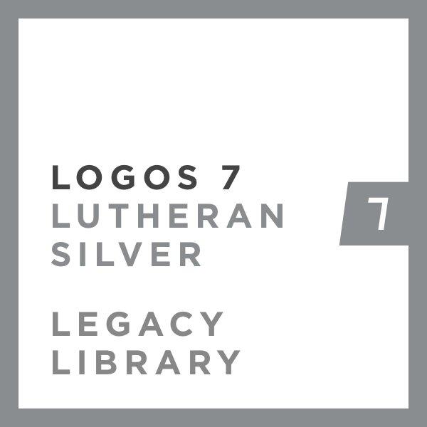 Logos 7 Lutheran Silver Legacy Library