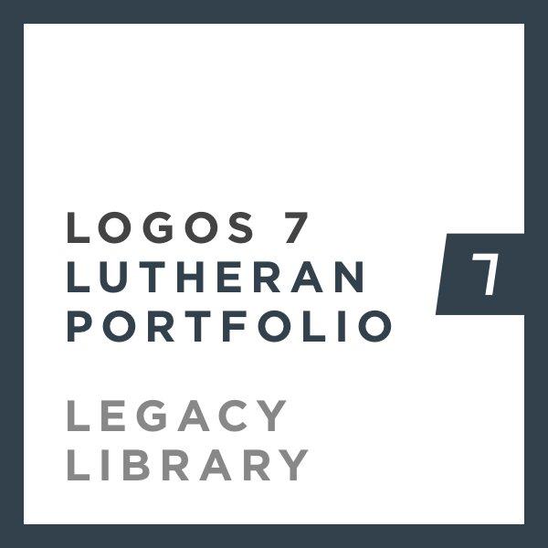 Logos 7 Lutheran Portfolio Legacy Library