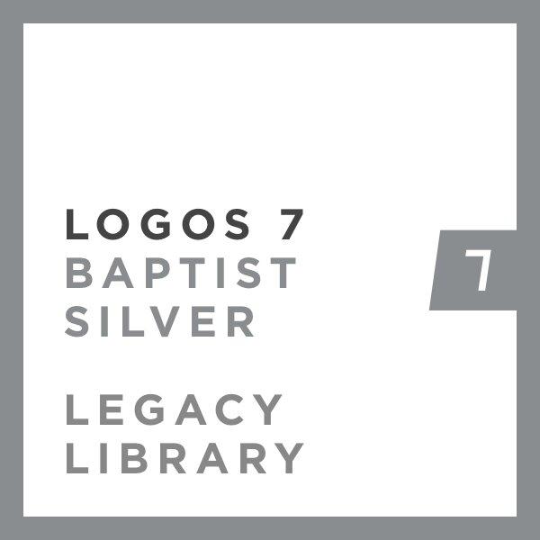 Logos 7 Baptist Silver Legacy Library