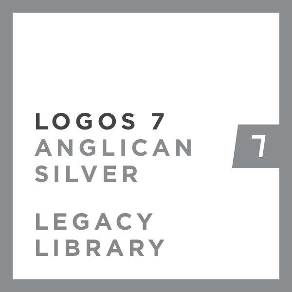 Logos 7 Anglican Silver Legacy Library